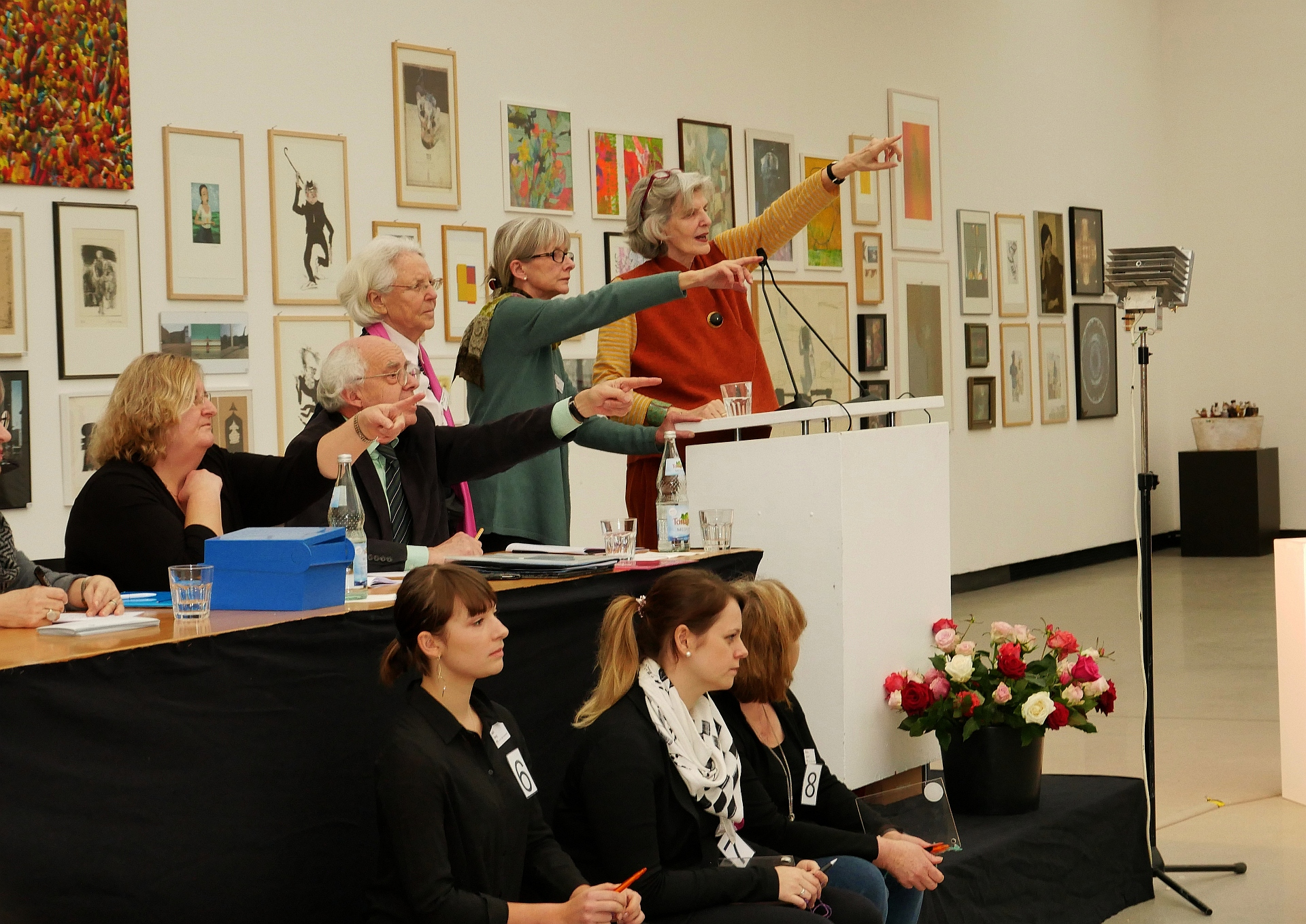 Auktionatorin Barbara Heus-Czisch