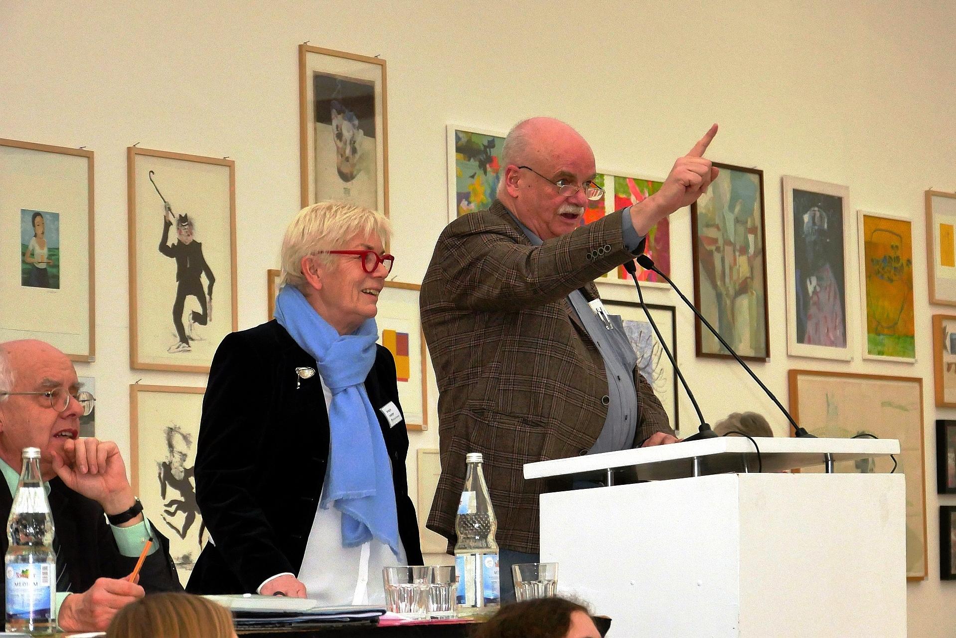 Auktionator Werner Meyer